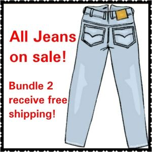 All Jeans! Bundle 2 Get Free Shipping!